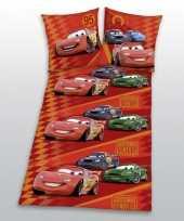 Feest disney cars dekbedovertrek jongens 135 x 200 cm