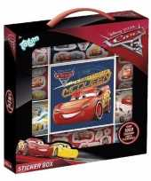 Feest disney cars stickers 1000 stuks