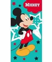 Feest disney mickey mouse badlaken strandlaken 70 x 140 cm