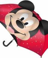 Feest disney mickey mouse paraplu voor jongens