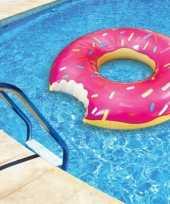 Feest donut zwemring