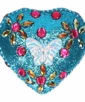 Feest doosje voor melktanden vlinder blauw 6 cm 10087880
