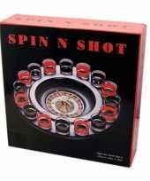 Feest drankspel shot roulette