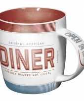 Feest drinkbeker american diner 33 cl
