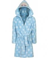 Feest elsa badjas lichtblauw voor kinderen