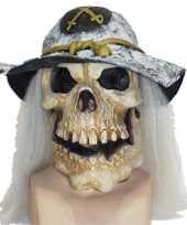 Feest eng masker van een doodshoofd