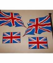 Feest engelse vlaggen stickers