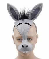 Feest ezels diadeem masker met geluid