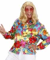 Feest fel gekleurd hippie shirt