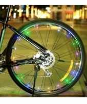 Feest fietsverlichting wieldecoratie led lichtslang