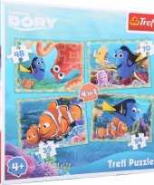 Feest finding dory puzzels 4 stuks