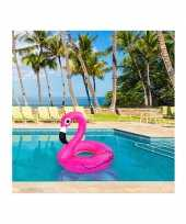 Feest flamingo zwemring