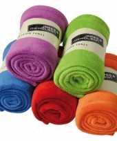 Feest fleece kleden in diverse kleuren