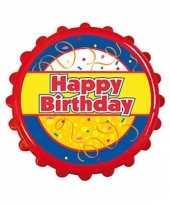 Feest fles opener happy birthday 10028451