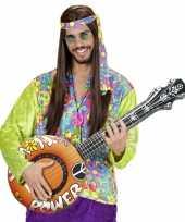 Feest flowerpower banjo opblaasbaar