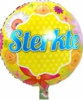 Feest folie ballon sterkte 46 cm met helium gevuld