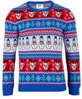Feest foute print dames truien comic christmas