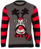 Feest foute print dames truien rudy reindeer