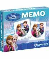 Feest frozen memory spel