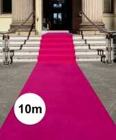 Feest fuchsia roze loper 10 x 1 meter