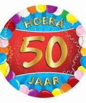 Feest gekleurde bierviltjes 50 jaar
