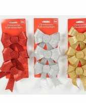 Feest gekleurde cadeaustrikken met glitters
