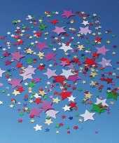 Feest gekleurde confetti snippers sterren 10125905