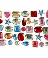 Feest gekleurde diamanten stenen 15 gr