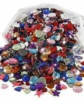 Feest gekleurde diamanten stenen 1600 stuks