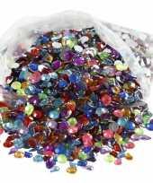 Feest gekleurde diamanten stenen 3000 stuks