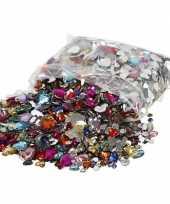 Feest gekleurde diamanten stenen hart