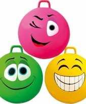 Feest gekleurde skippybal voor kids 70 cm