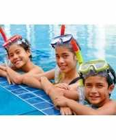 Feest gekleurde snorkelset voor tieners