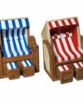 Feest geld spaarpot strandstoel