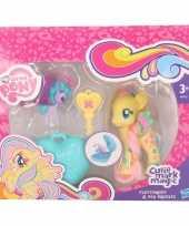 Feest gele my little pony schoenkado poppetjes