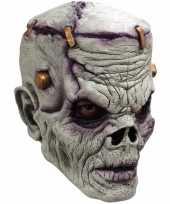Feest ghoulish frankn zombie latex masker voor volwassenen