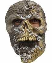 Feest ghoulish skelet horror latex masker voor volwassenen