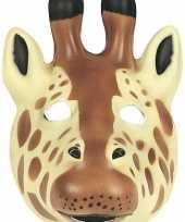 Feest giraffe masker soft foam materiaal