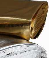 Feest glanzende stof goud per meter