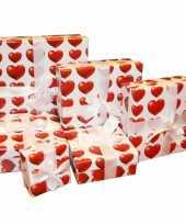 Feest goedmakertje hartjes verpakking 18 cm