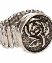 Feest gothic chunk ring voor volwassenen