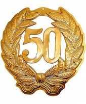 Feest gouden jubileum krans 50 jaar
