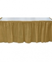 Feest gouden tafelrok