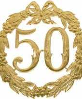 Feest gouden trouwdag 50 jaar jubileum