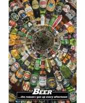 Feest grappige bier poster