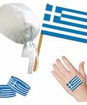 Feest griekenland grieks thema verkleed set voor volwassenen