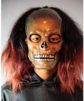 Feest griezelig schedel masker