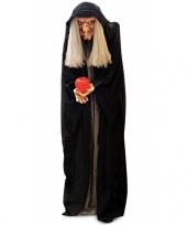 Feest griezelige heksenpop met licht 100 cm