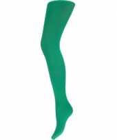 Feest groene dames panty 60 denier