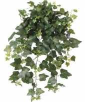 Feest groene hedera helix klimop kunstplant 65 cm voor buiten